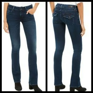 Hudson signature bootcut medium wash jean